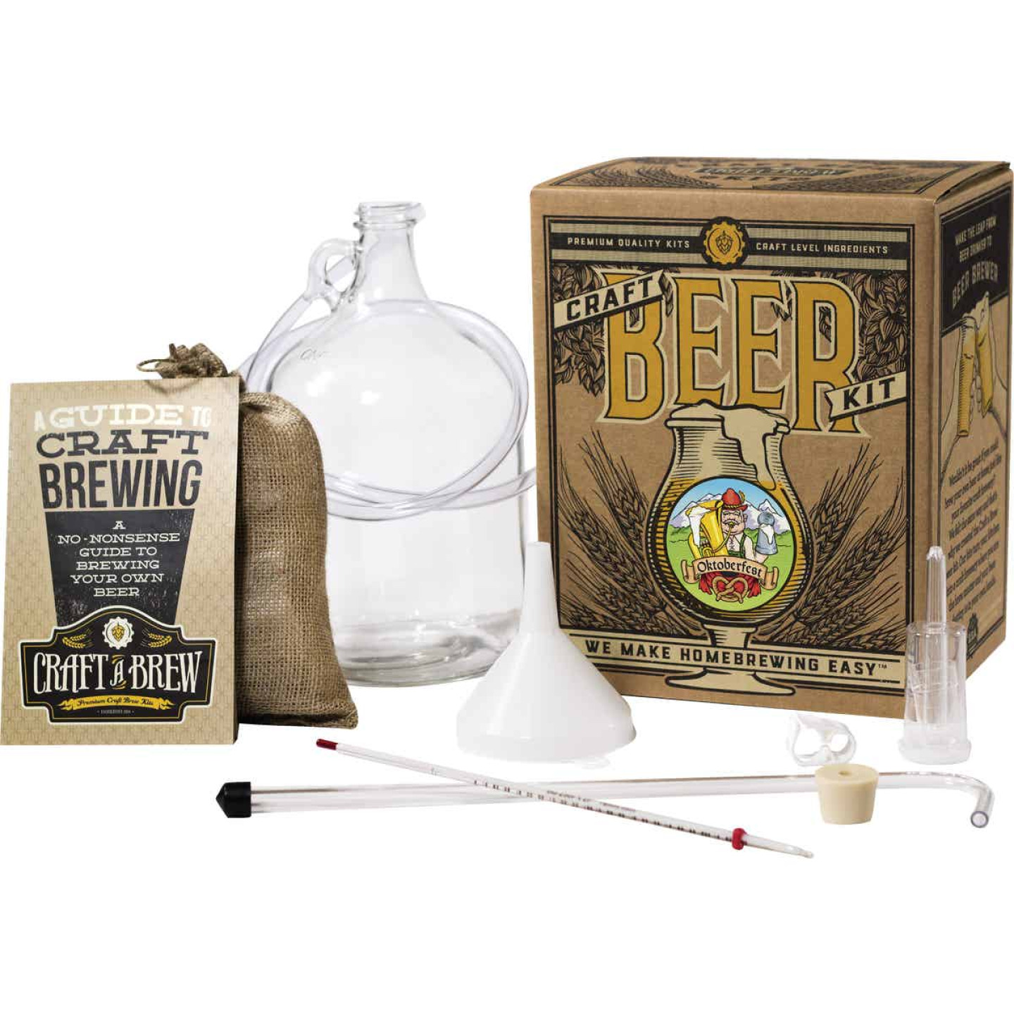 Craft A Brew Oktoberfest Ale Beer Brewing Kit (11-Piece) Image 1
