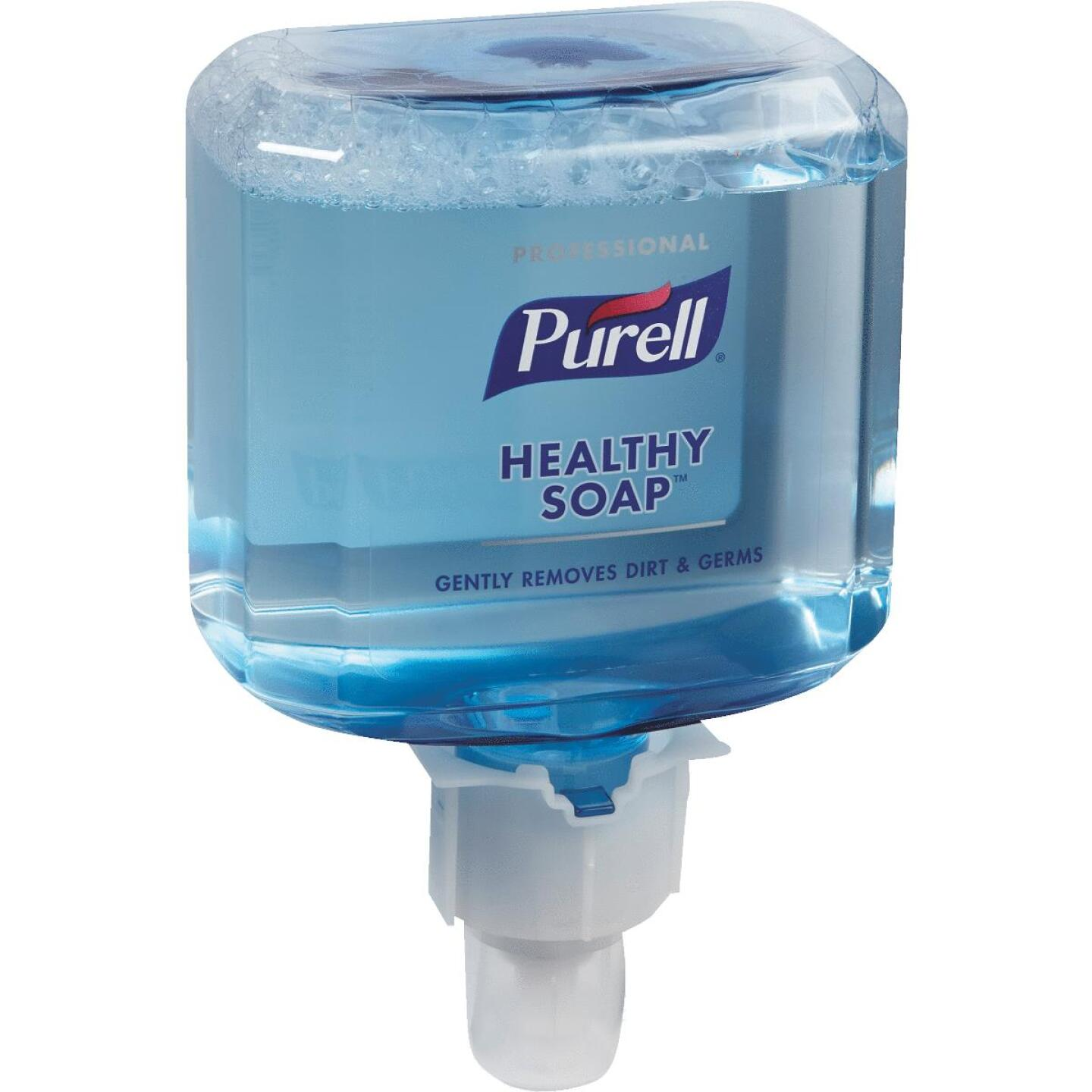 Purell ES4 1200mL Professional Healthy Soap Fresh Scent Foam Refill Image 1