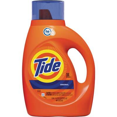 Tide 46 Oz. 32 Load HE Liquid Laundry Detergent