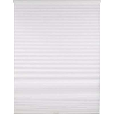 Home Impressions 1 In. Light Filtering Cellular White 72 In. x 72 In. Cordless Shade