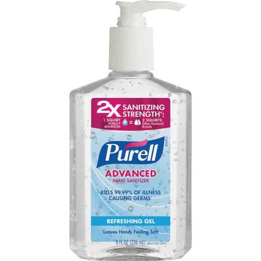 Purell 8 Oz. Gel Pump Bottle Hand Sanitizer