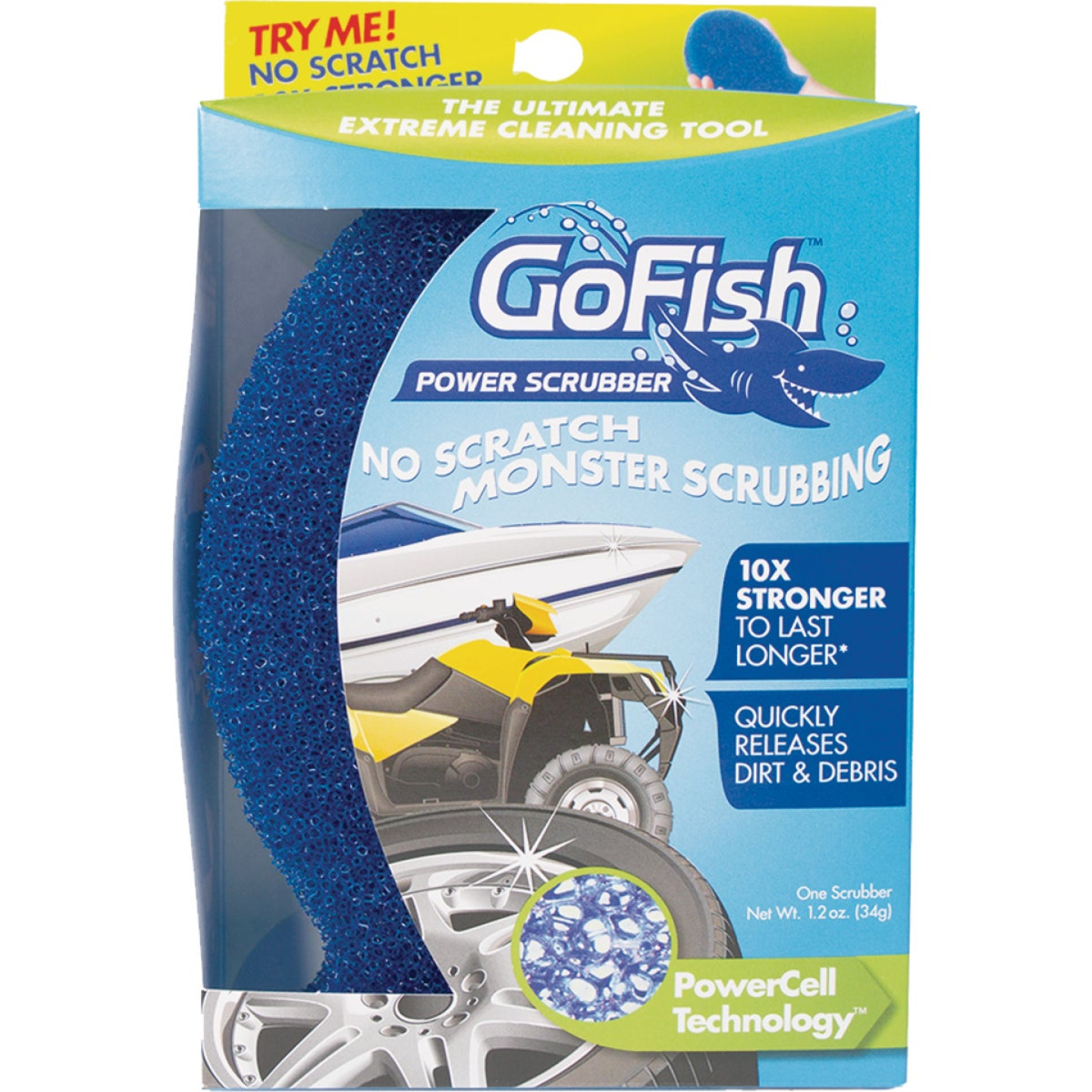 DishFish GoFish Power Scrubber Image 1