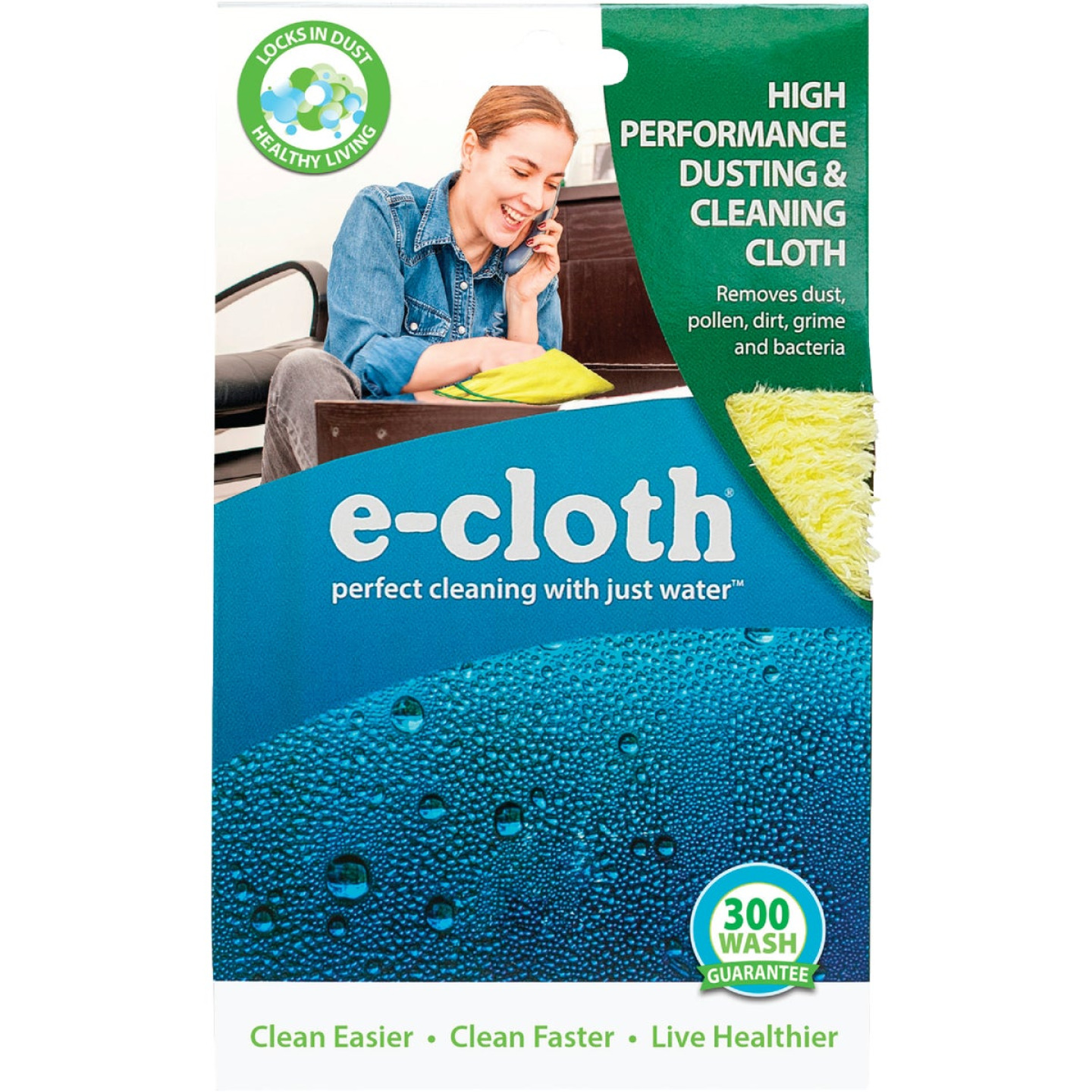 E-Cloth 12.5 In. x 12.5 in. High Performance Dusting & Cleaning Cloth Image 2
