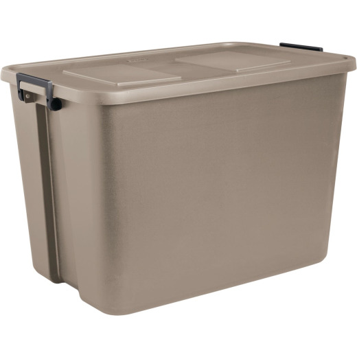Sterilite 32 Gal. Cement Latch Tote