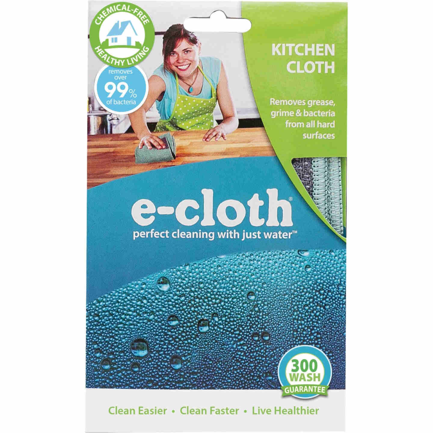 E-Cloth 12.5 In. x 12.5 In. Kitchen Cleaning Cloth Image 2