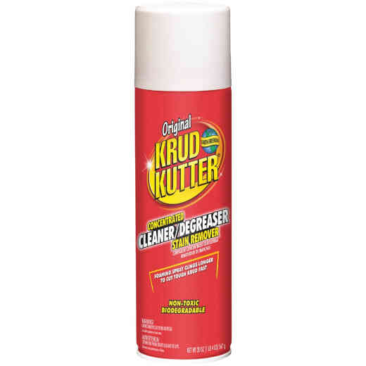 Krud Kutter 20 Oz. Original Concentrated Cleaner & Degreaser Stain Remover Aerosol