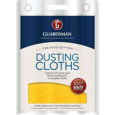 Guardsman Dusting And Cleaning Cloth (5 Count)