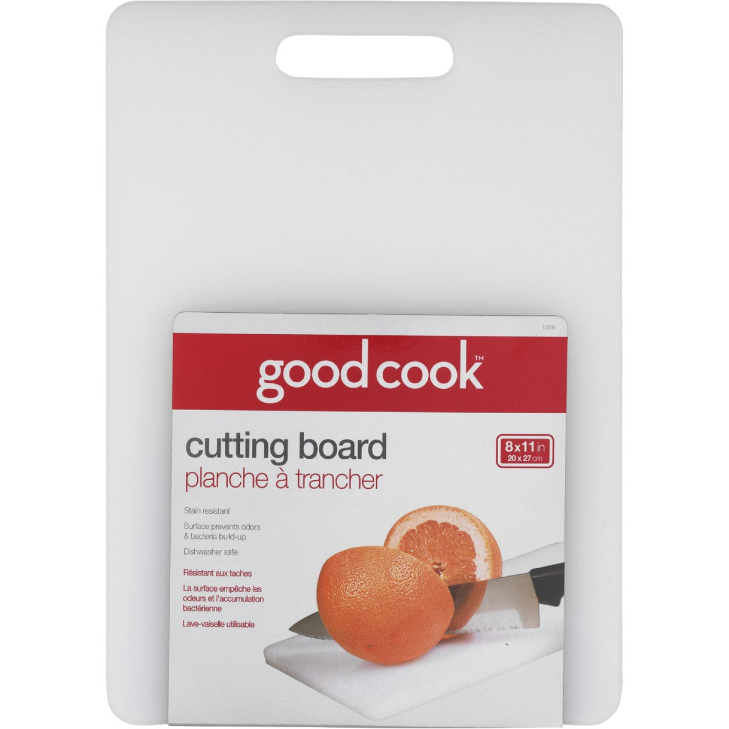 Goodcook 8 In. x 11 In. White Cutting Board Image 1