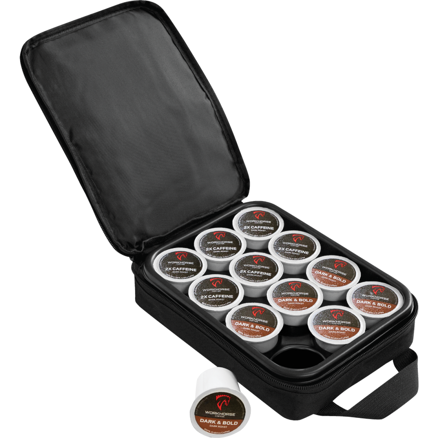 Oxx Coffee 12-Pod Black Carry Case Image 1