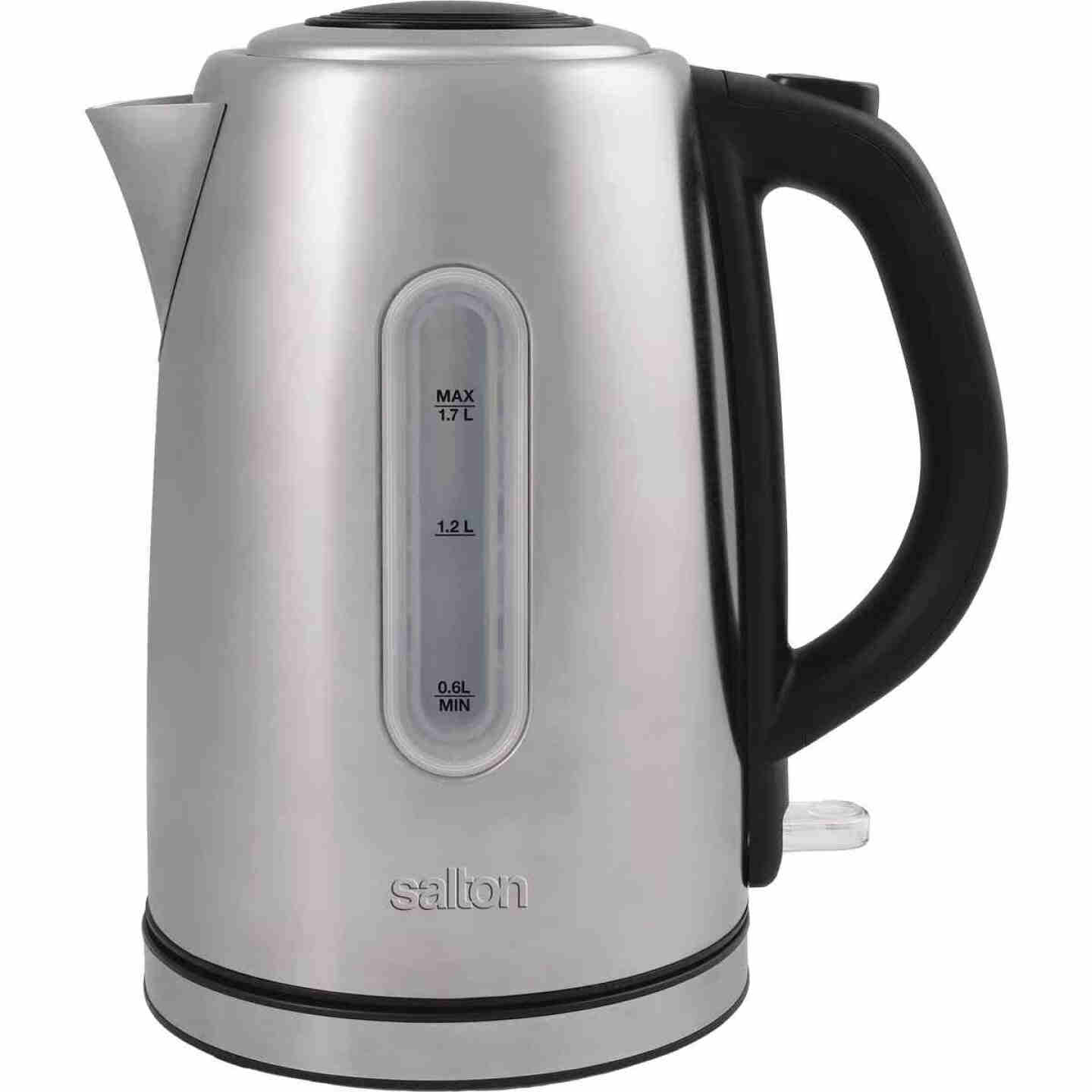Salton 1.7 Ltr. Cordless Electric Stainless Steel Kettle Image 1