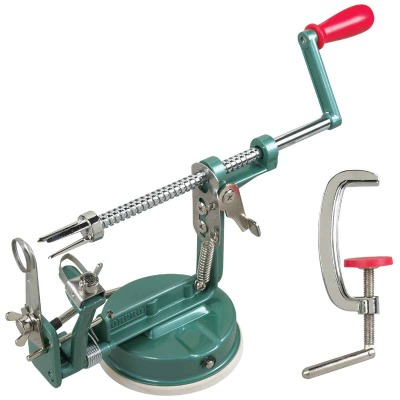 Norpro Apple-Master Apple Parer & Slicer & Corer with Vacuum Or Clamp Base