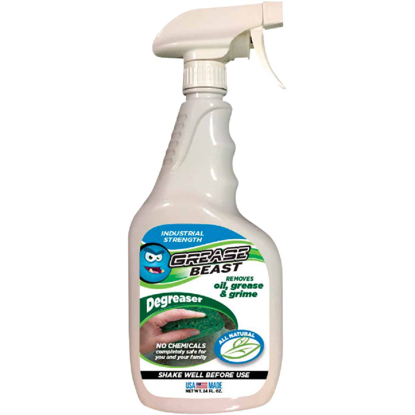 Grease Beast 24 Oz. All Natural Cleaner & Degreaser Image 1