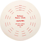 Bethany 9 In. Dia. Pastry Board & Cotton Cloth Image 2