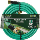 Best Garden 5/8 In. Dia. x 50 Ft. L. Heavy-Duty Soft & Supple Garden Hose Image 1