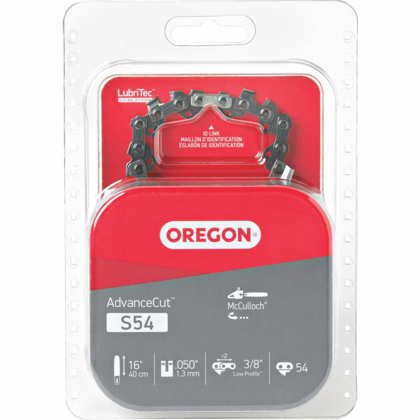 Oregon S54 16 In. Chainsaw Chain Image 1