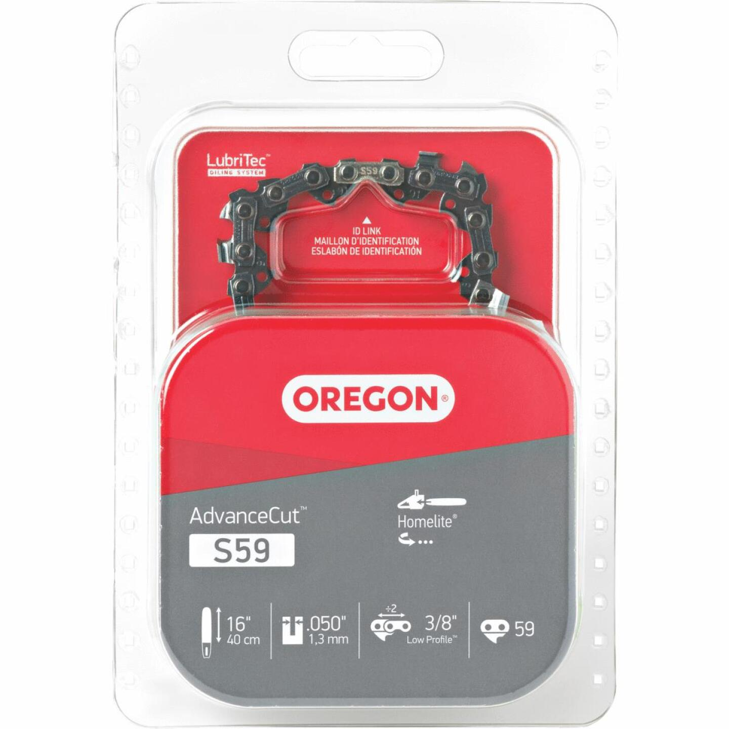 Oregon S59 16 In. Chainsaw Chain Image 1