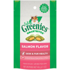 Greenies SmartBites Salmon 2.1 Oz. Skin & Fur Health Cat Treats Image 1