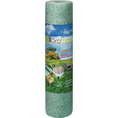 Gro Trax Big Roll 100 Sq. Ft. Coverage Bermuda/Rye Mixture Grass Seed Roll