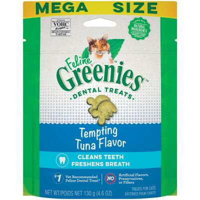Greenies Tempting Tuna 4.6 Oz. Dental Cat Treats