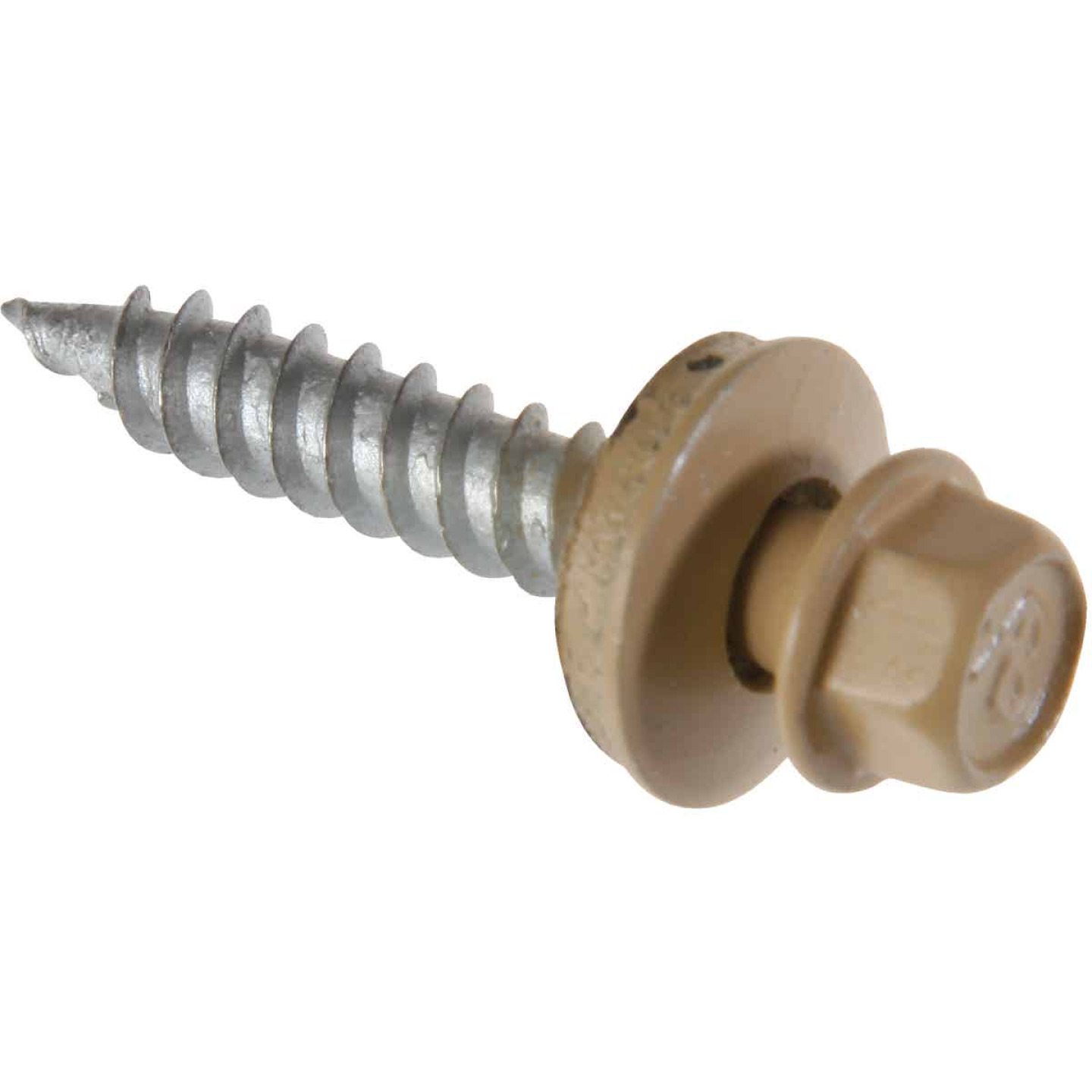 Do it #9 x 1-1/2 In. Hex Washered Tan Framing Screw (250 Ct.) Image 1