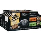 Sheba Perfect Portions Cuts in Gravy Roasted Chicken/Tender Turkey Adult Wet Cat Food (12-Pack) Image 1