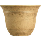 Listo Sierra 7.38 In. H. x 10 In. Dia. Arizona Sand Poly Flower Pot Image 1
