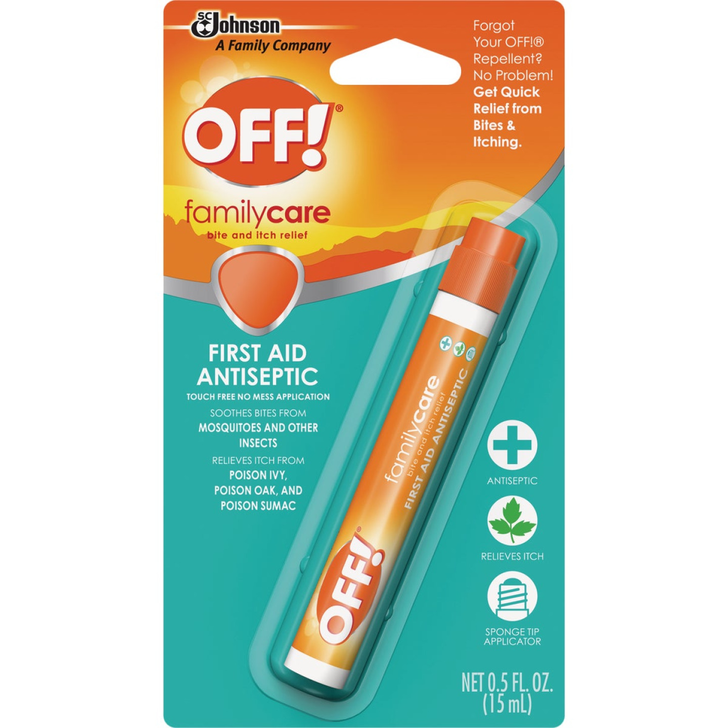Off Family Care 0.5 Oz. Benzocaine Insect Bite & Itch Relief Image 1