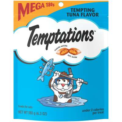Temptations Tempting Tuna 6.3 Oz. Cat Treats