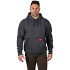 Milwaukee Medium Gray Heavy-Duty Pullover Hooded Sweatshirt Image 2