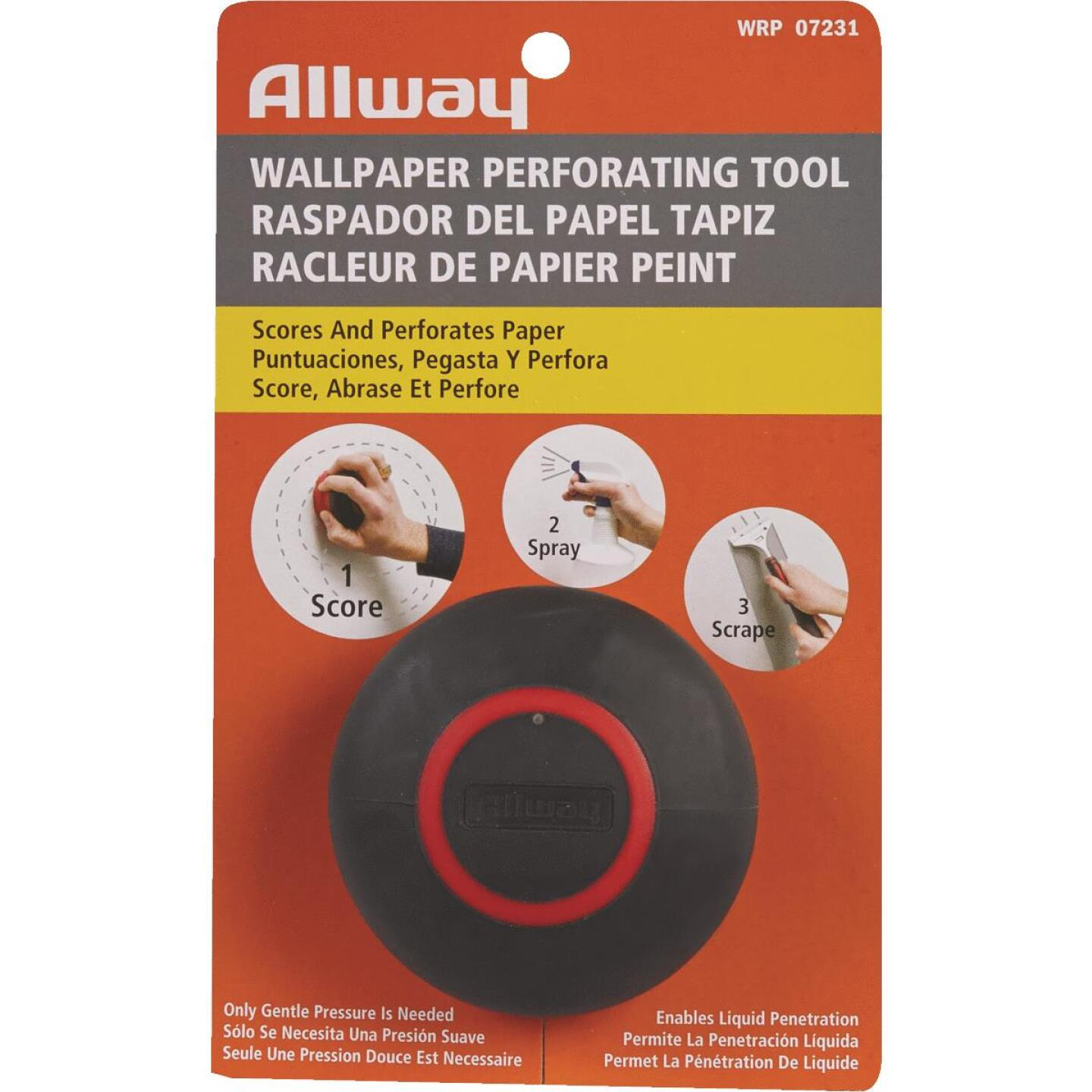 Allway Wallcovering Perforating Tool Image 2