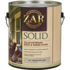 ZAR Solid Deck & Siding Stain, Medium Tint Base, 1 Gal. Image 1
