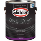 Glidden One Coat Interior Paint + Primer Eggshell White & Pastel Base 1 Gallon Image 1