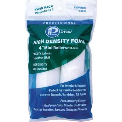 Premier Z-Pro 4 In. x 1/2 In. High Density Foam Roller Cover (2-Pack)