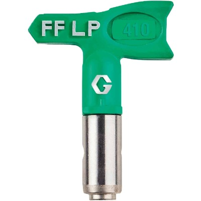 Graco Fine Finish Low Pressure FFLP RAC X 8 In. W. 0.010 In. Tip Paint Sprayer Airless Spray Tip