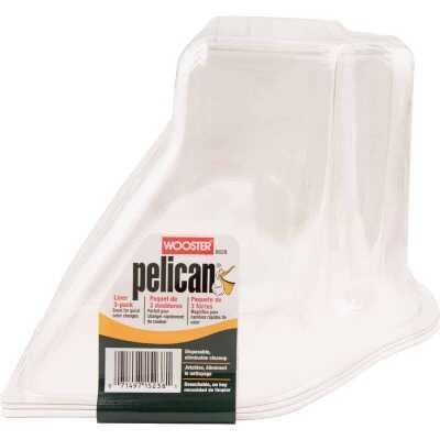 Wooster Pelican 1 Qt. Clear Plastic Paint Pail Liner (3-Pack)