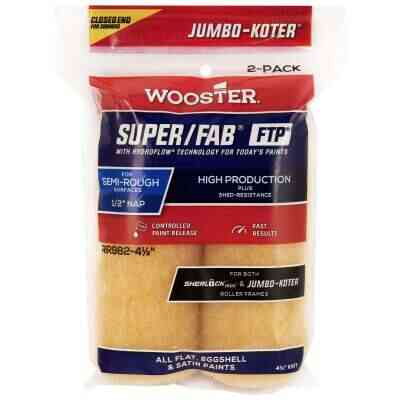 Jumbo-Koter S/F FTP 4-1/2 In. x 1/2 In. Knit Roller Cover (2-Pack)
