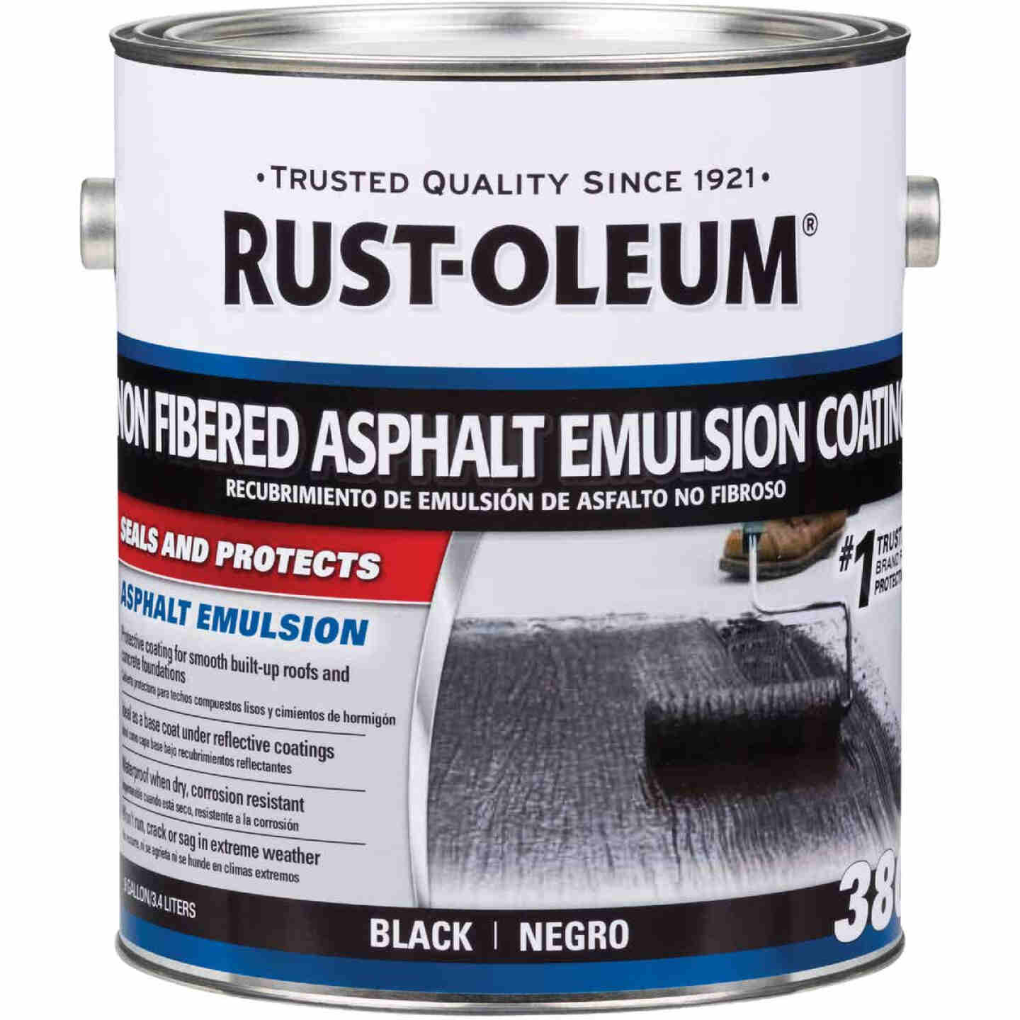 Rust-Oleum 380 1 Gal. Non-Fibered Asphalt Emulsion Coating Image 1