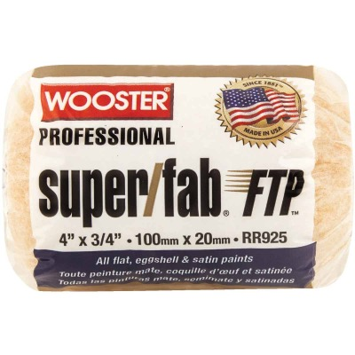 Wooster Super/Fab FTP 4 In. x 3/4 In. Knit Fabric Roller Cover