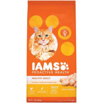 Iams Proactive Health 7 Lb. Chicken Flavor Adult Dry Cat Food