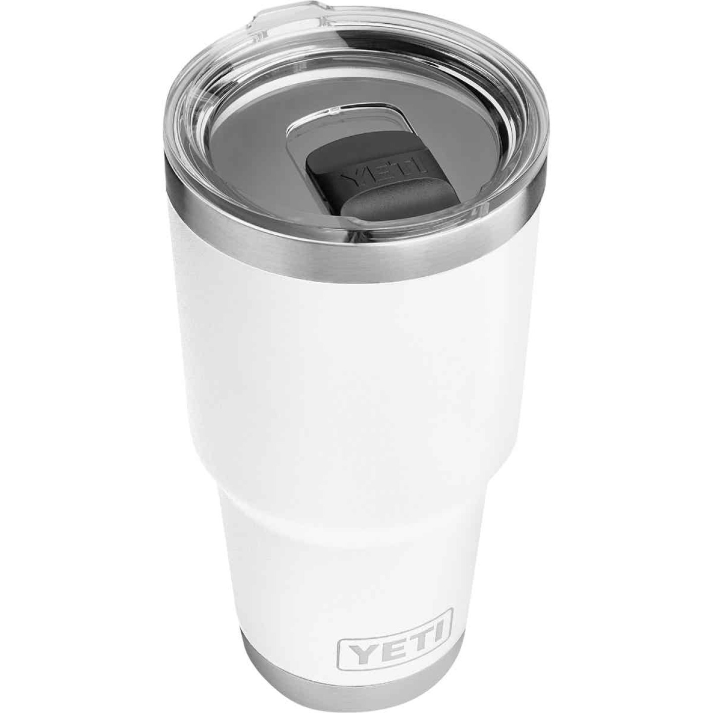 Yeti Rambler 30 Oz. White Stainless Steel Insulated Tumbler with MagSlider Lid Image 1