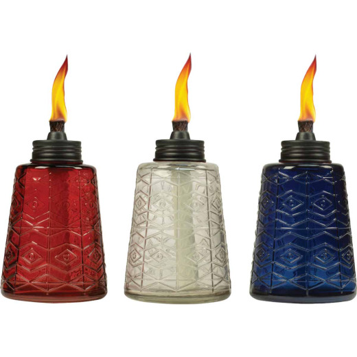 Tiki 6 In. Glass Table Torch