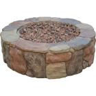 Bond Petra 36 In. Round Faux Stone Fire Pit Image 1