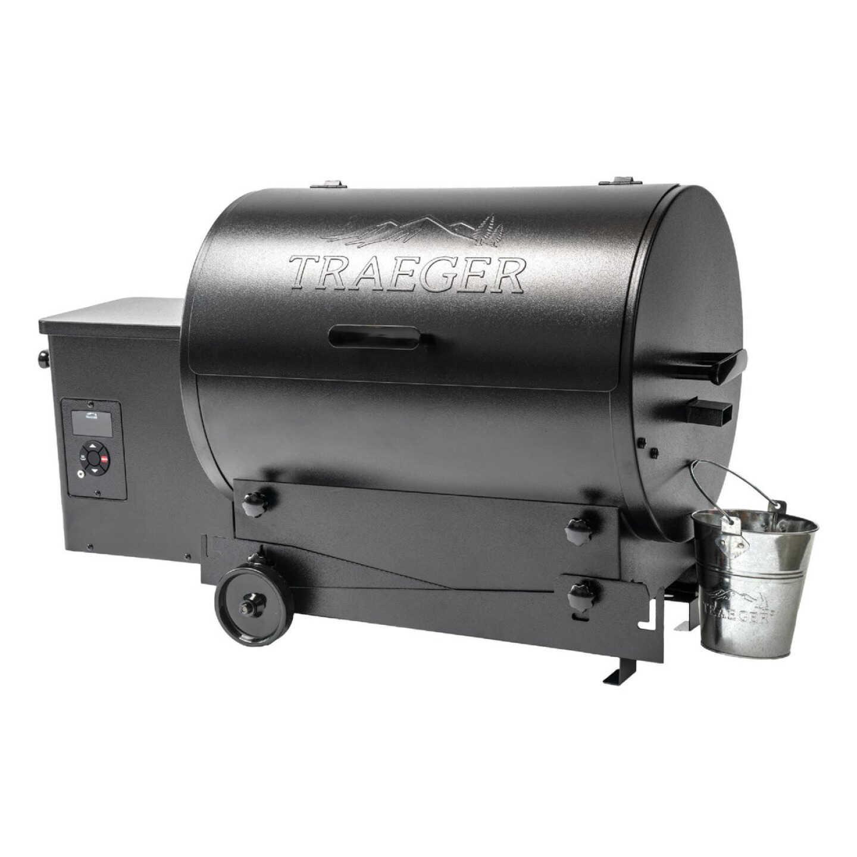 Traeger Tailgater 20 Black 19,500 BTU 300 Sq. In. Wood Pellet Grill Image 2