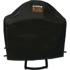 Broil King Keg 5000 45 In. Black PVC/Polyester Grill Cover Image 1