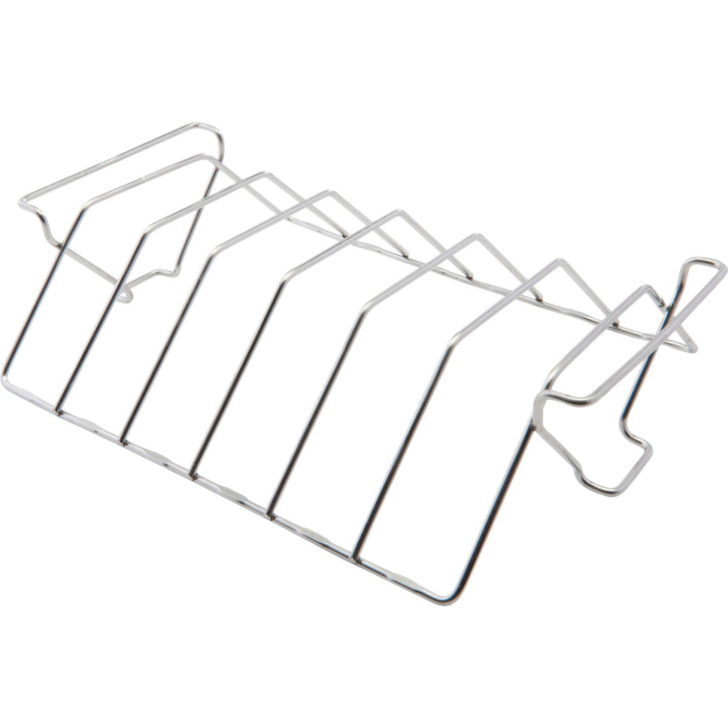 GrillPro 15.5 In. Stainless Steel Rib & Roast Grill Rack Image 1