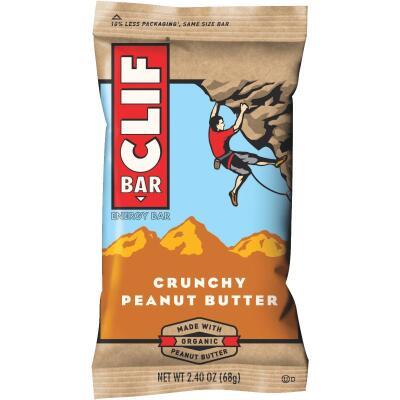 Clif Bar Crunchy Peanut Butter 2.4 Oz. Energy Nutrition Bar